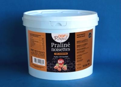 Hazelnut Praline 50%