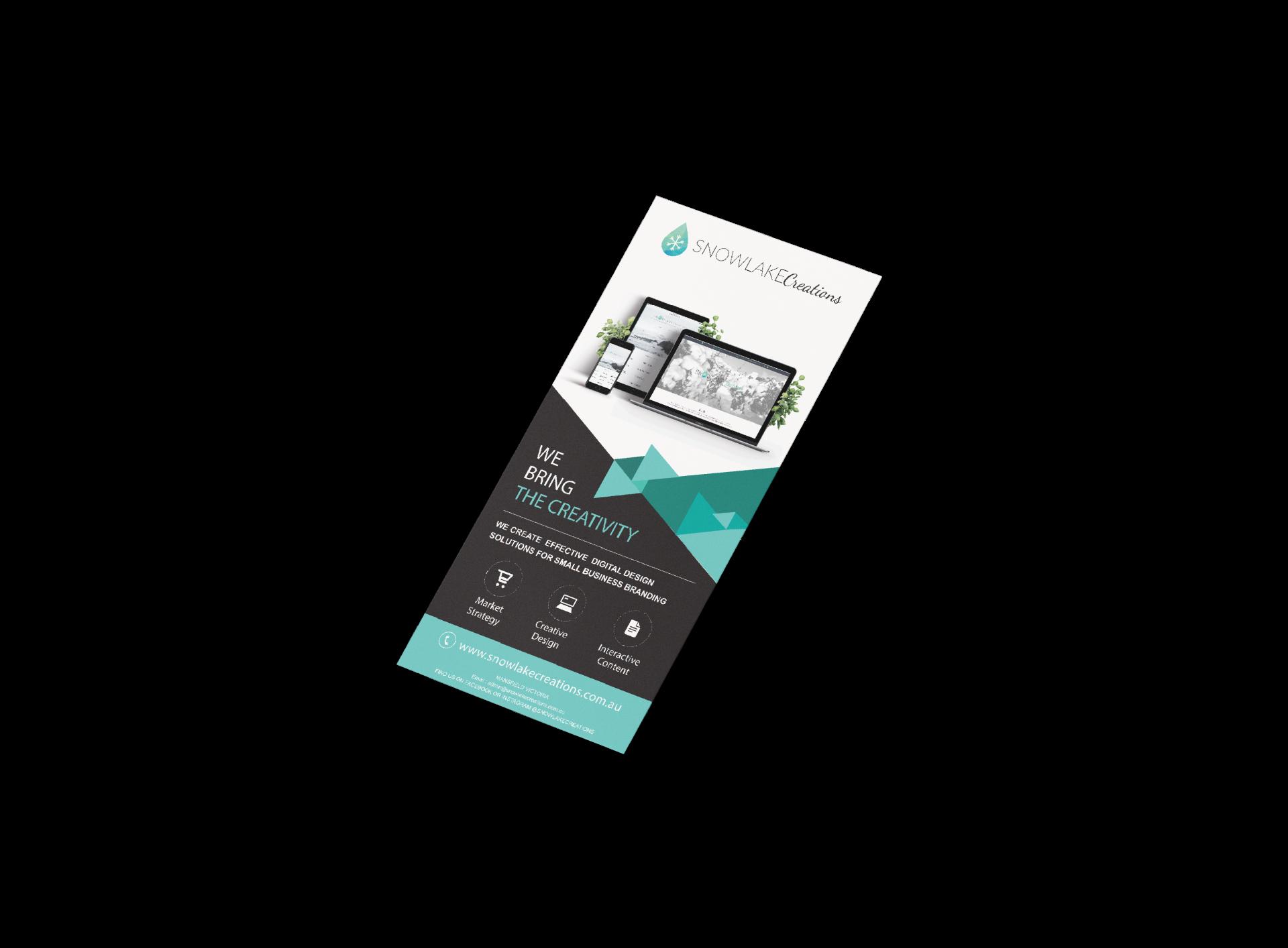 SnowLake Marketing Design offers design services for marketin