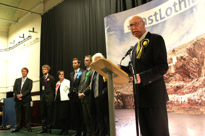 George thanking the Returning Officer and her staff