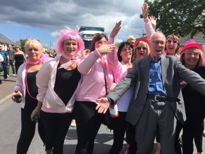 Dancing with the Pink Ladies,  Ormiston Gala