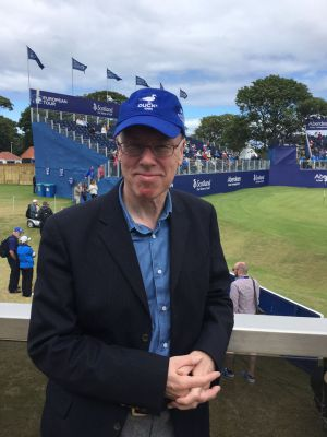 Attending the 2015 Scottish Open, Gullane