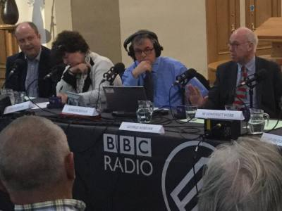 Speaking in the BBC Scotland Big Debate, North Berwick