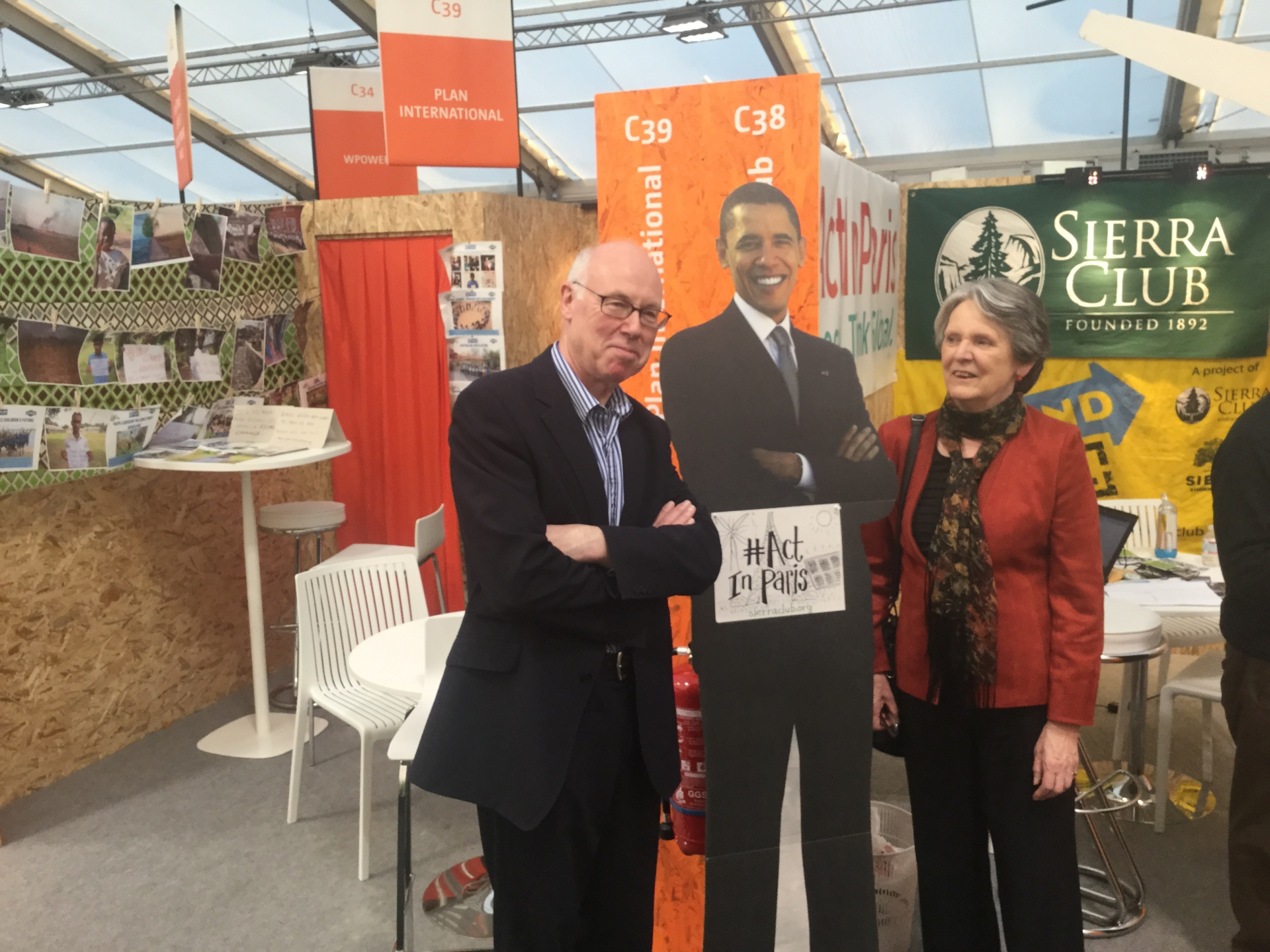At COP21 climate change conference, Paris