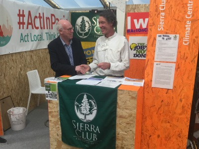 Talking to Jim Dougherty of The Sierra Club, Paris