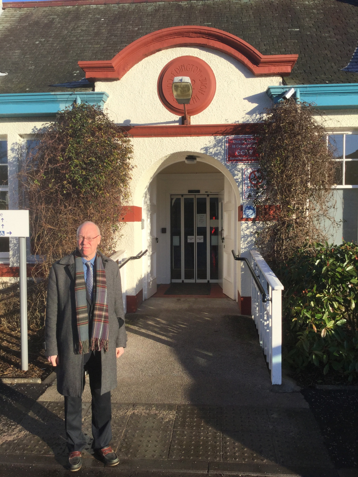 George Kerevan at North Berwick Health Centre