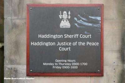 A year on, feelings still run high over Haddington Sheriff Court's axe