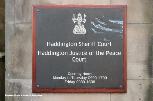 A year on, feelings still run high over Haddington Sheriff Court's axe