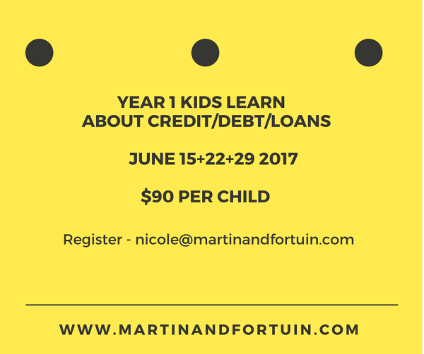 Year 1 Credit, Debt & Loans