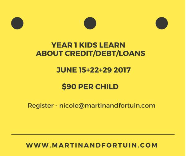 Year 1 Credit, Debt & Loans