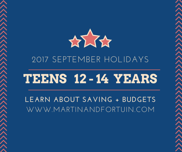Teens 12 - 14 Years: Savings & Budgets