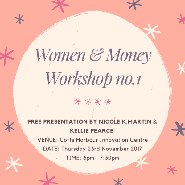 Free Women & Money Workshop no.1