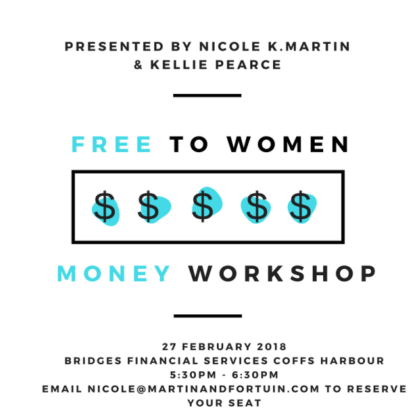 Free Women & Money Workshop no.1