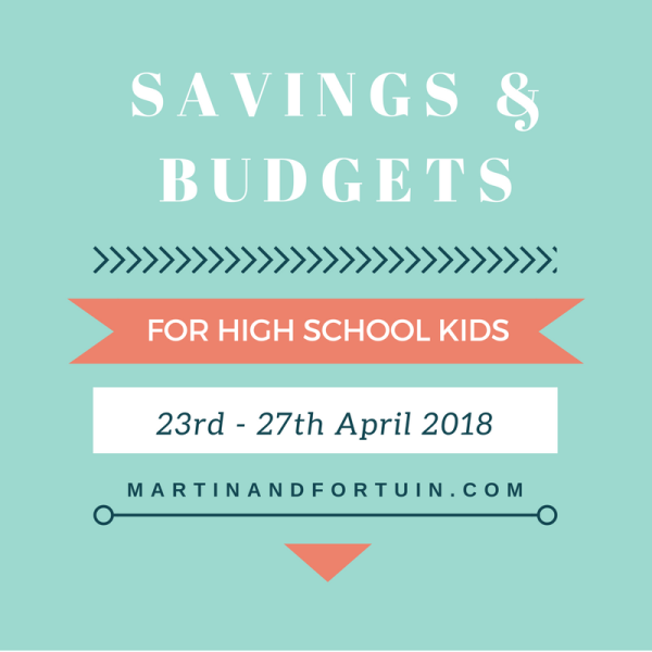 High School: Savings & Budgets