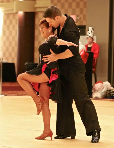 Joan Udes and Derek Pasqualetto