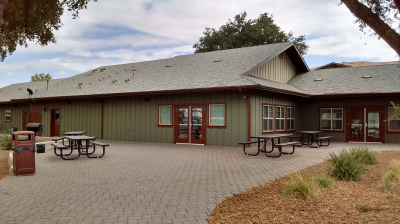 Community Room and Patio Area