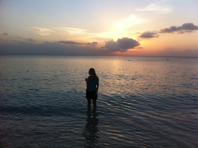 Marnee in the Cayman Islands