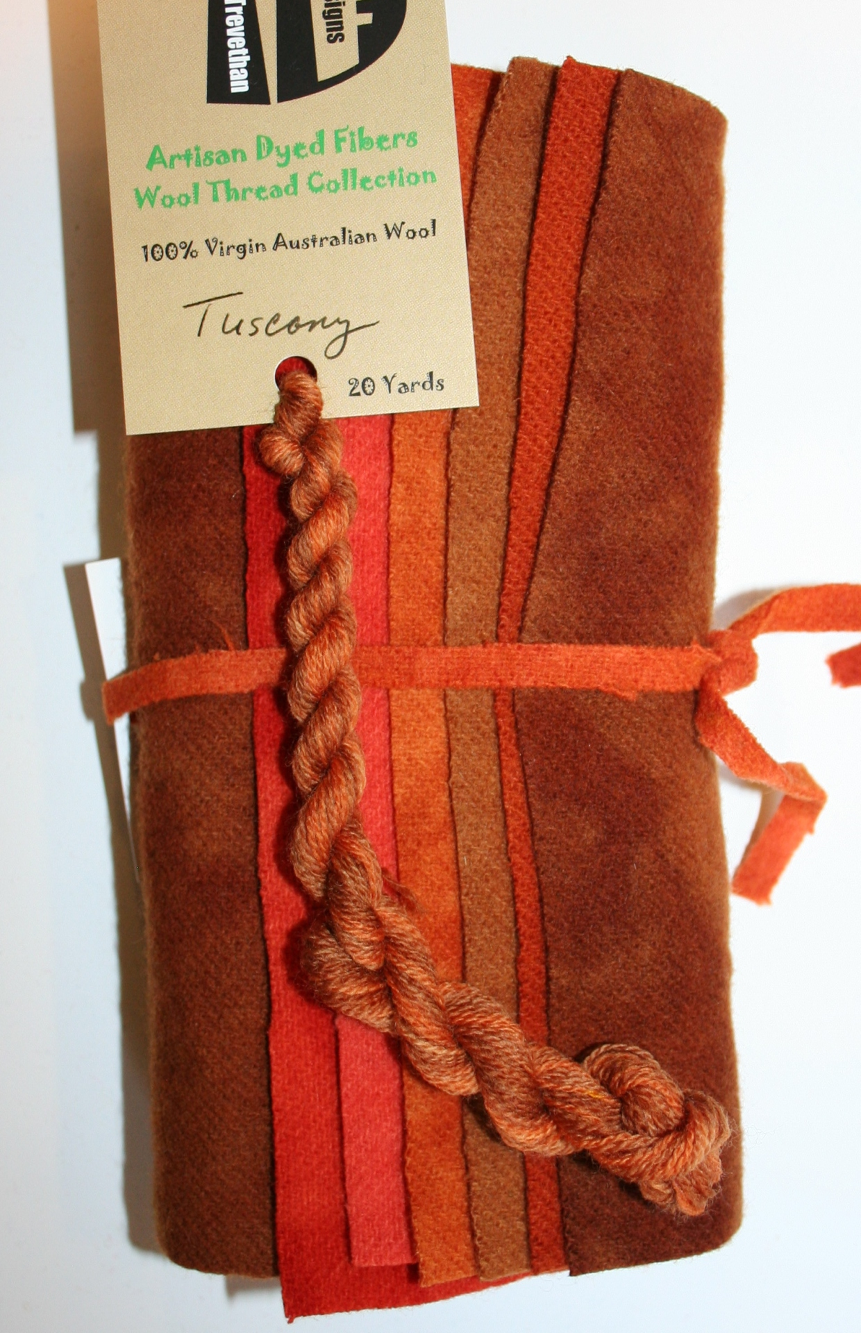 Tuscany Hand Dyed Wool Six Pack Collection