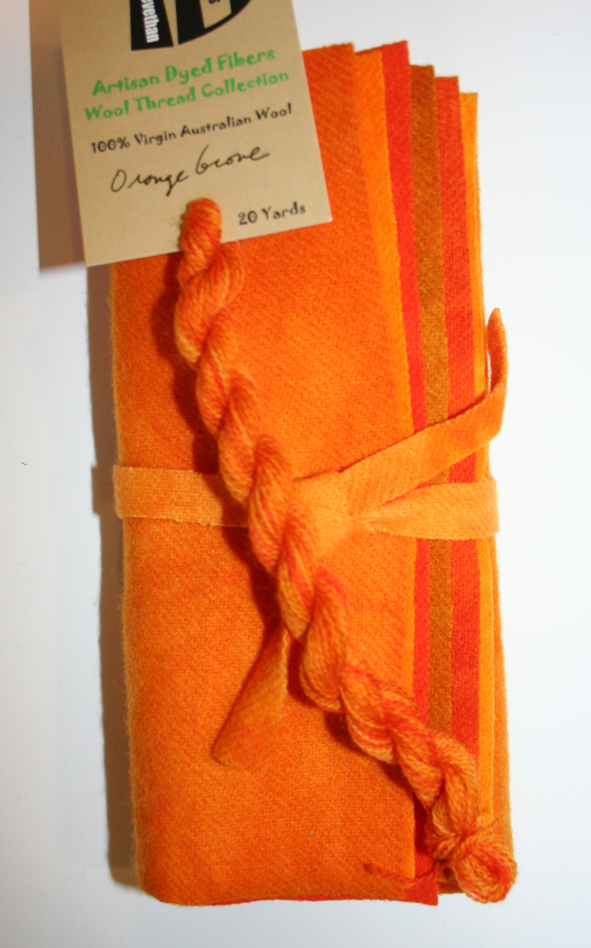 Orange Grove Hand Dyed Wool Six Pack Collection