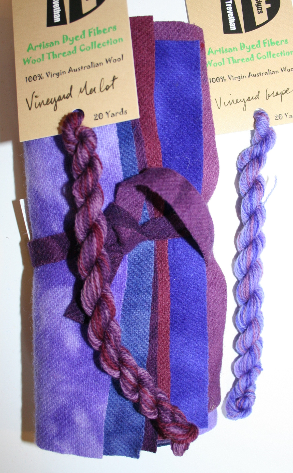 Vineyard Hand Dyed Wool Six Pack Collection
