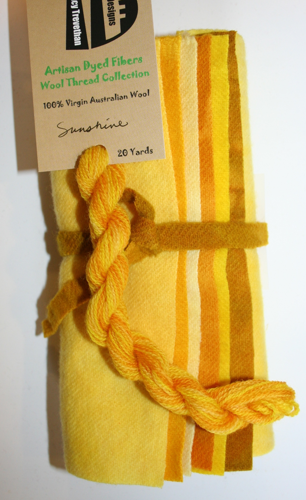 Sunshine Hand Dyed Wool Six Pack Collection