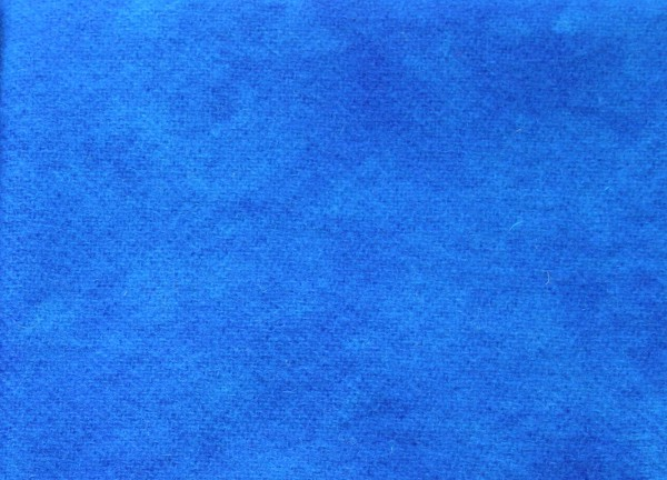 Electric Blue Artisan Hand Dyed 100% Wool Part of the Deep Sea Collection