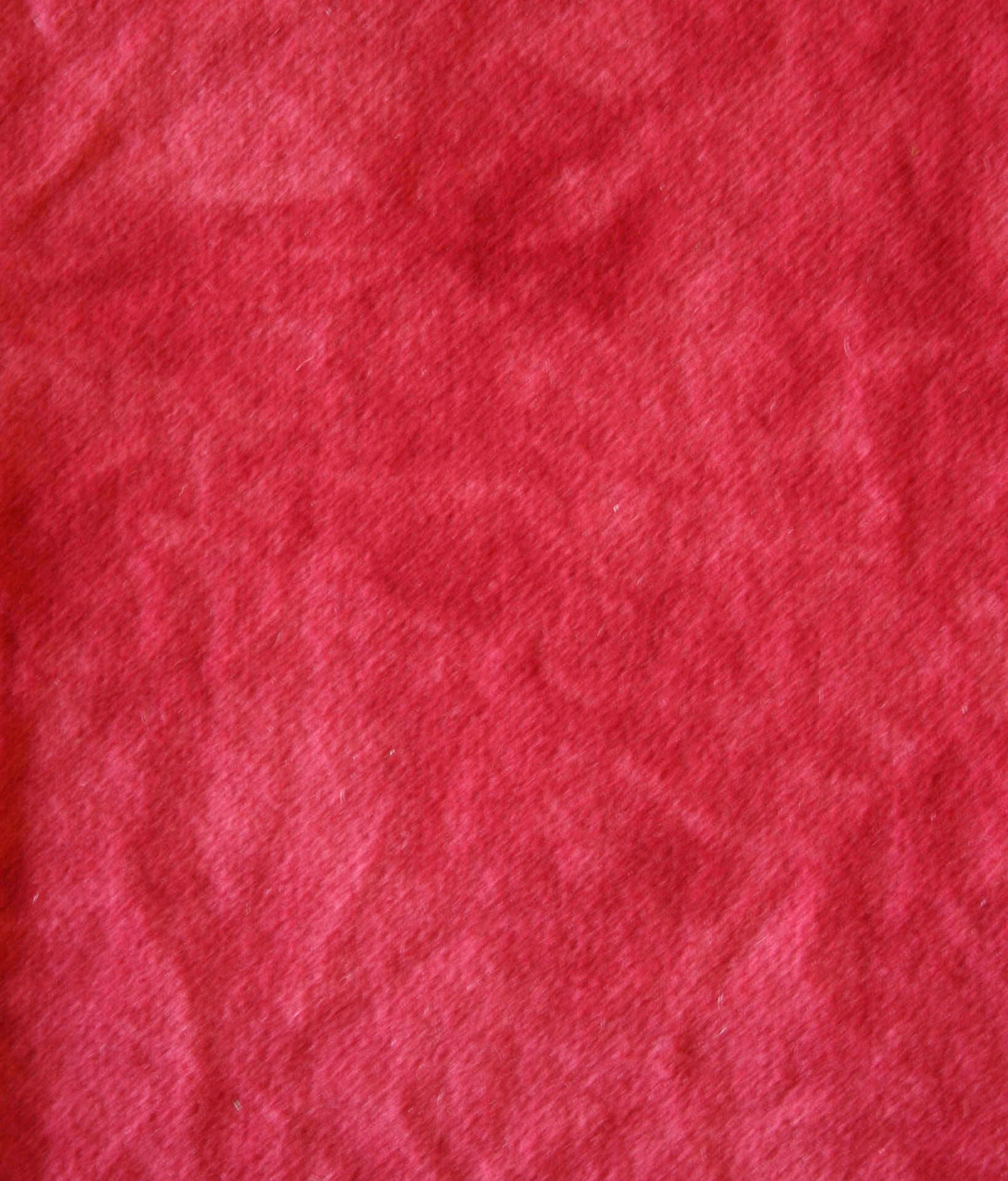 Ruby Red Hand Dyed 100% Wool Part of the Cotton Candy Collection