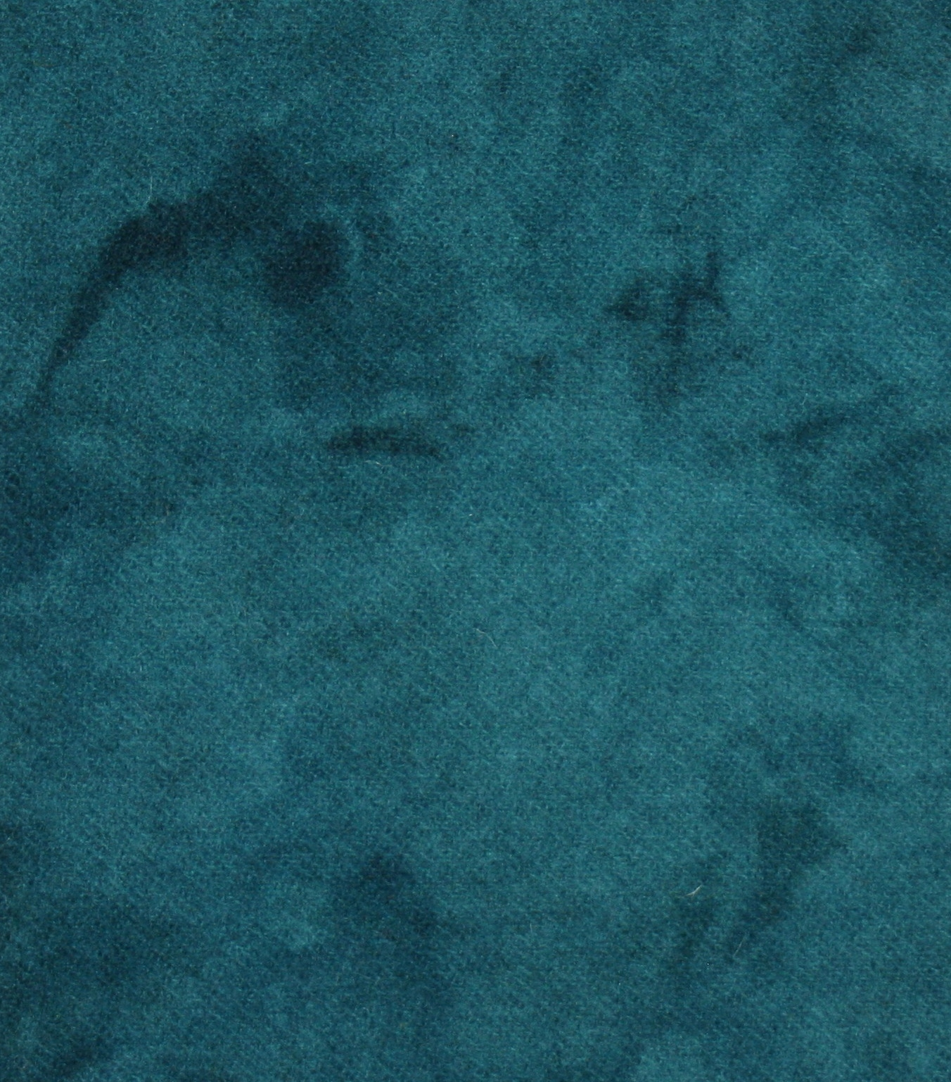 Teal Artisan Hand Dyed 100% Wool.  Part of the Totally Teal Collection