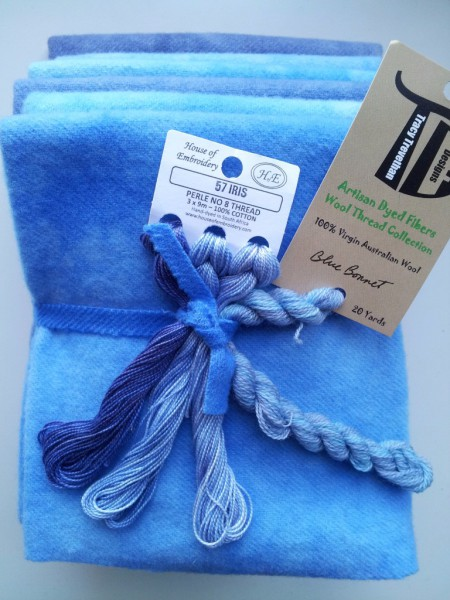 Blue Bonnet Bundle features one Fat Eighth of each of the 6 colors in our Blue Bonnet Collection.