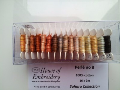 House of Embroidery Perle #8 Sahara