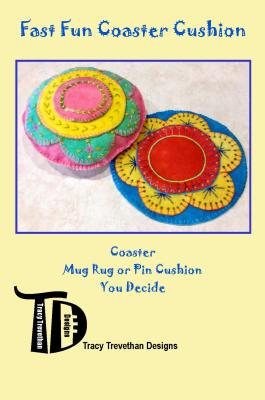 Wool Applique coaster pattern