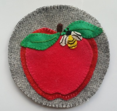 Apple Cider Sangria Coaster