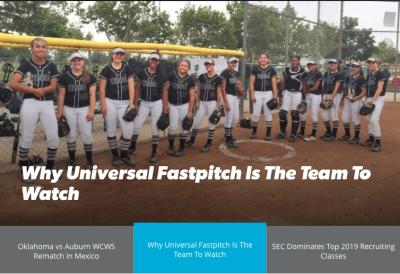 "The ""U"" Garcia Featured on Flosoftball"