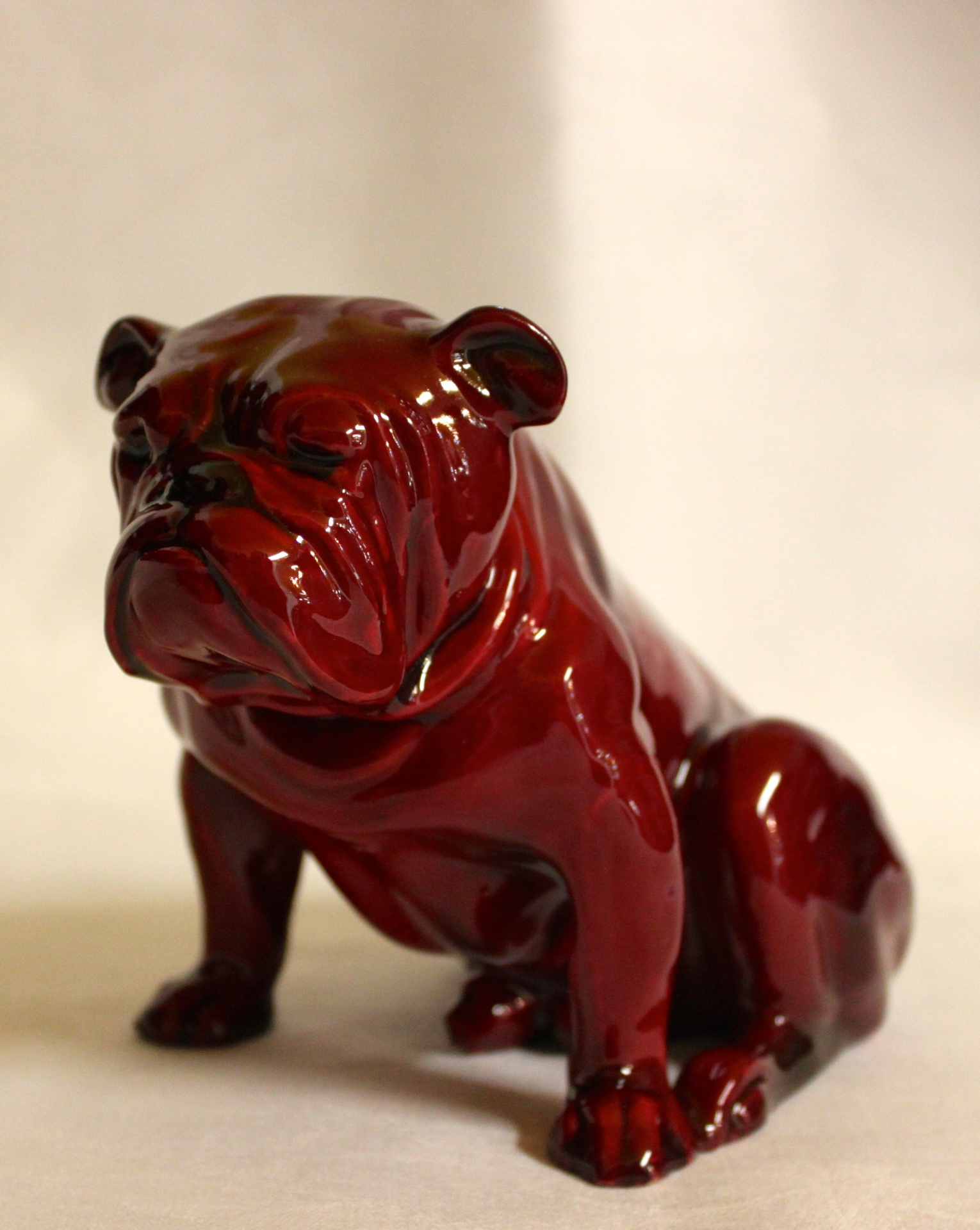 Royal Doulton Flambe Bulldog
