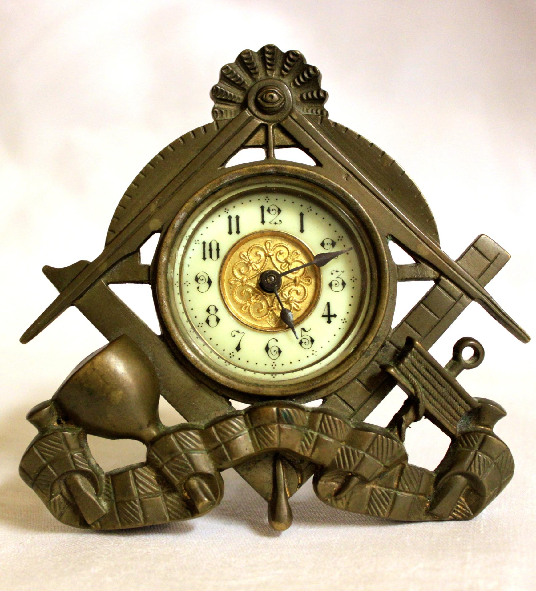 Masonic Clock circa 1930's