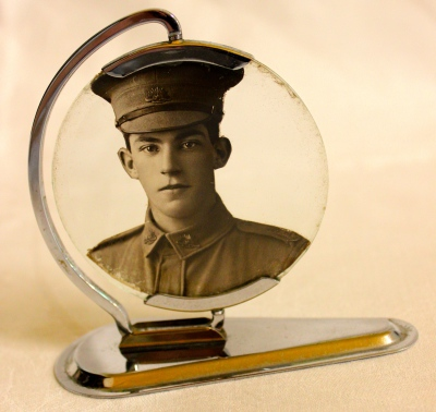 WW1 Framed Soldier Photograph