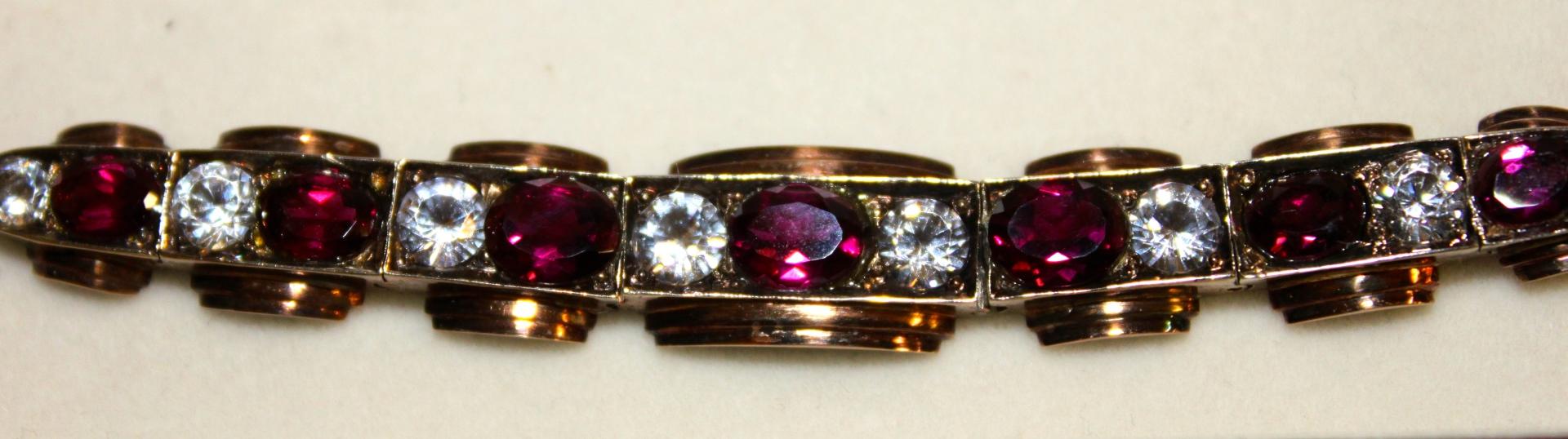 Art Deco 9ct Gold Bracelet