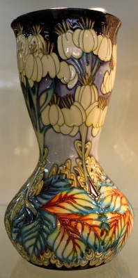 Moorcroft 'Heaven Unseen Vase' by Emma Blossoms