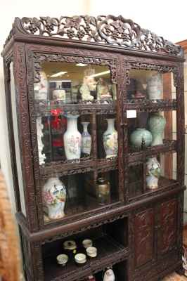 Chinese Rosewood Cabinet circa 1890