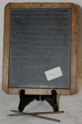 Old Australian Schoolhouse Slate & Leads circa 1950