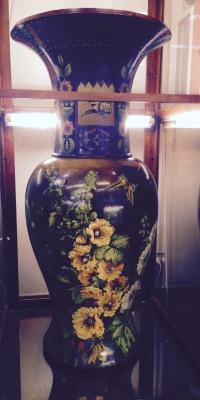 Paris Exhibition 1900 Faience Vase at Lavender Hill Antiques & Collectables