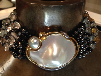 Pearl & Beaded Necklace by Kai-Yin Lo
