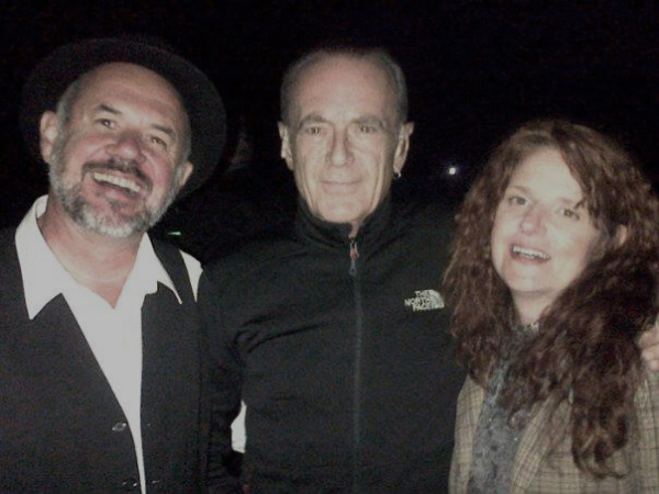 With Francis Rossi!!