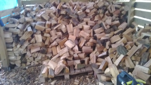 Cut and Split Firewood Store