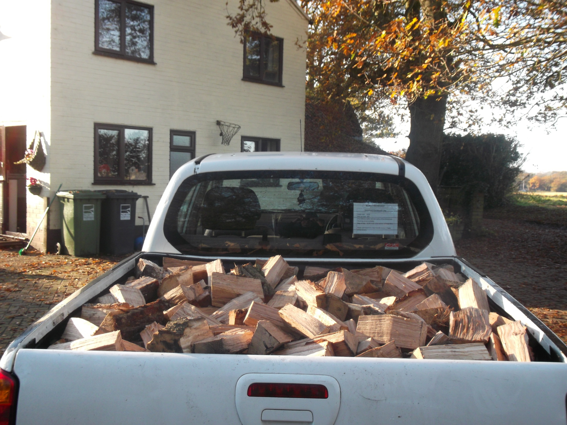 Truck load of Hardwood firewood
