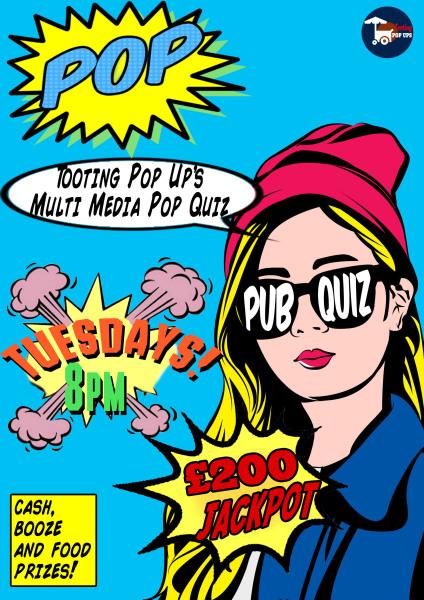 MULTI MEDIA PUB QUIZ EVERY TUESDAY £200 JACKPOT