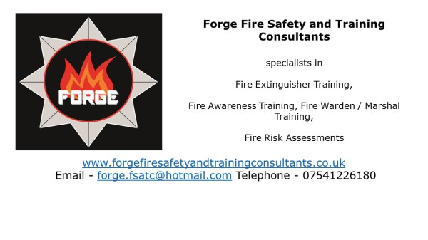 Fire Extinguisher, fire marshal, fire warden, fire risk assessment
