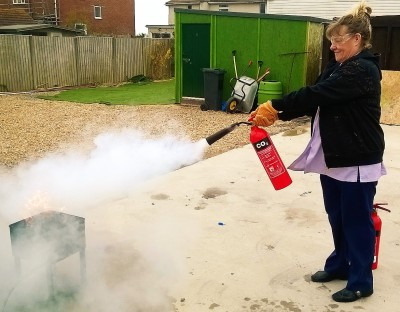 fire extinguisher co2 session