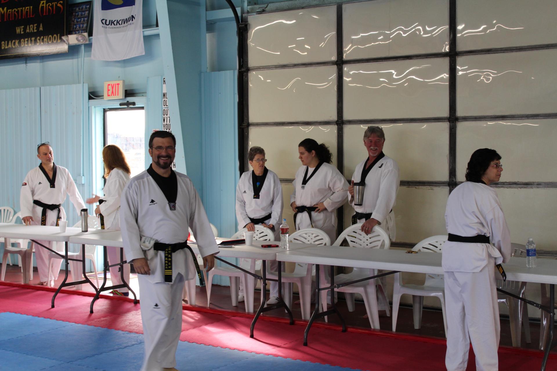 Taekwondo Black Belt testing Claremore