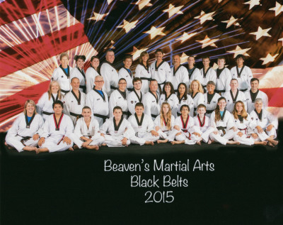 Black Belts 2015
