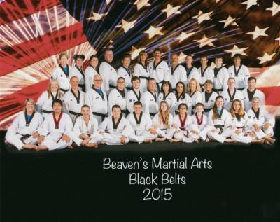 Black Belts 2015